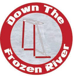 Down the Frozen River- Smaller Circular Logo